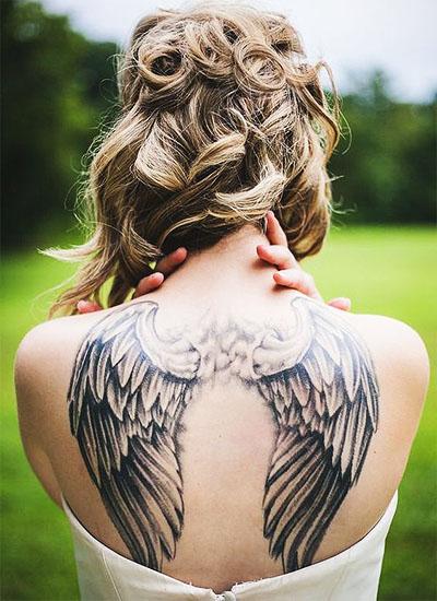 tatuagem costas feminina