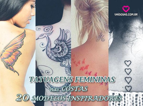 Tatuagens Femininas nas Costas-20 Modelos Inspiradores