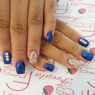 unhas decoradas azul 02-2