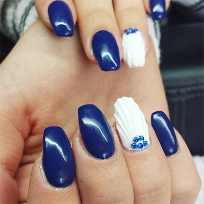 unhas decoradas azul 05-5