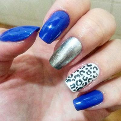 unhas decoradas azul 06-6