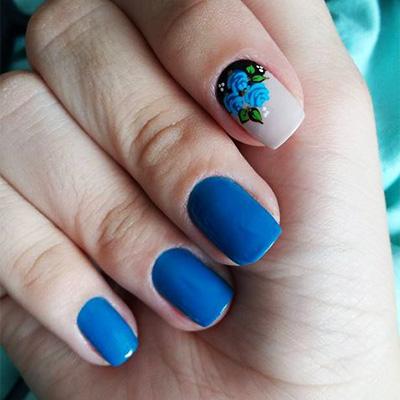 unhas decoradas azul 12-12
