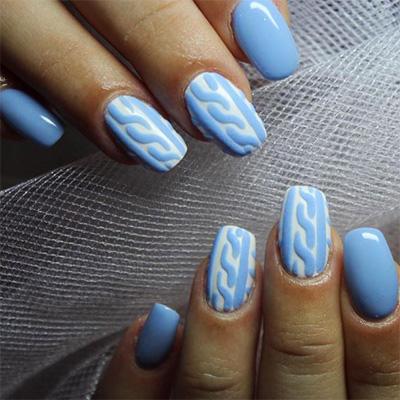 unhas decoradas azul 14-14