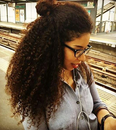 penteados afro
