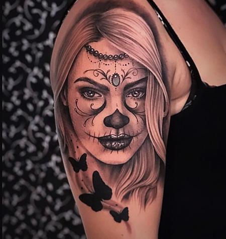 Tatuagem Catrina Imagens E Tudo Sobre A Tattoo Mexicana
